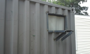 Cut out for window unit AC cooling only